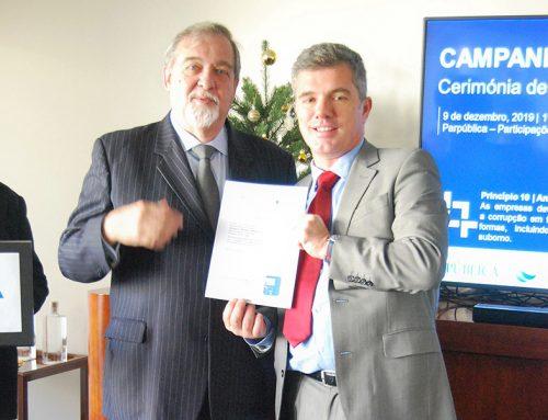 25 empresas do Grupo PARPÚBLICA concretizam adesão ao Call to Action-Corrupção das Nações